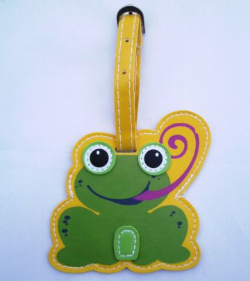 Frog Luggage Tags Holiday Travel Bag School Label